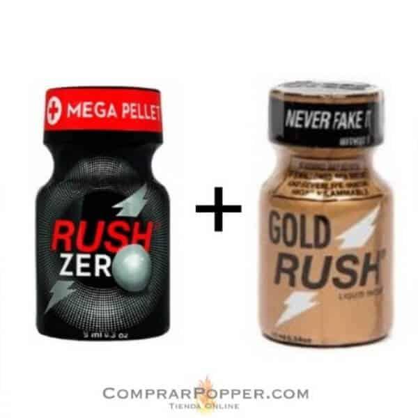 popper rus zero y gold rush en comprar popper