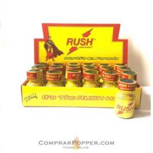 popper al por mayor imagen de la caja de 18 botes popper rush en comprar popper