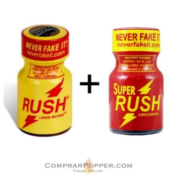 pack popper rush y super rush en nuestra tienda de poppers
