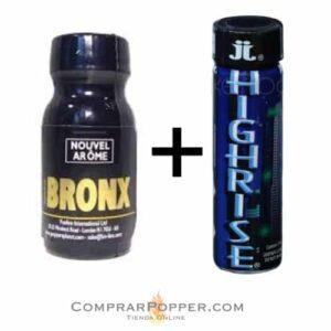pack popper bronx y highrise en tienda online españa poppers
