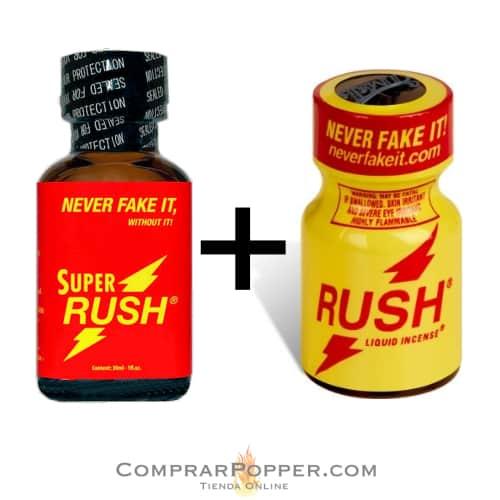 pack popper super rush y rush de regalo