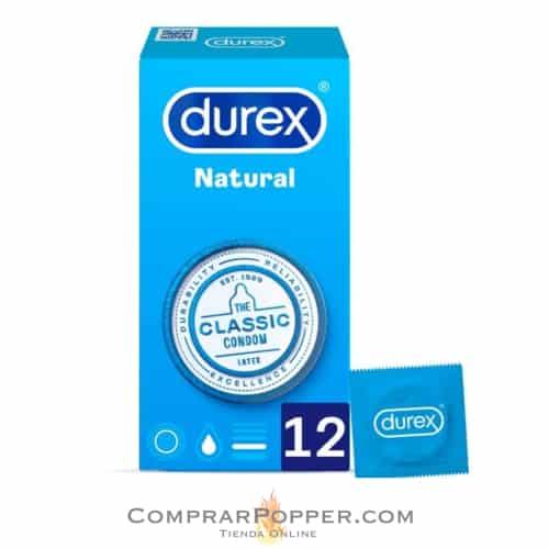 comprar preservativos durex natural caja de 12 unidades