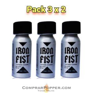 pack 3x2 popper iron fist en comprar popper